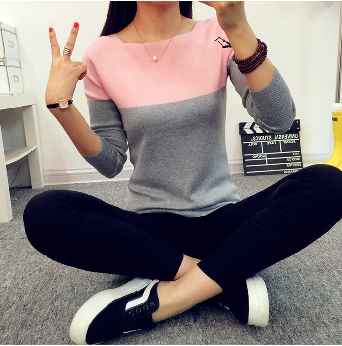 Brand Female Long Sleeve Solid Color Hooded Sweater  Hoodie Tracksuit Sweat Coat Casual Red