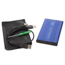 USB 2 0 2 5 INCH Notebook IDE Hard Driver Enclosure External Case Aluminum magnesium Alloy