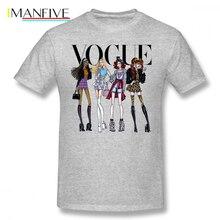 Clueless T Shirt Vogue T-Shirt Male Awesome Tee Shirt Graphic Short Sleeve 100 Cotton Fashion Plus size Tshirt plus short sleeve graphic tee