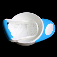 Grinding-Bowl Food-Mill Baby Infant Child 1pc Dishes Gifts Learn Handmade Kids