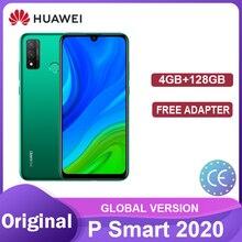 HUAWEI P Inteligente 2020 GB 128GB Versão Global 4 Smartphones Bateria 3400mAh NFC 6.21 Polegada AI Câmera 13MP смартфоны телефон