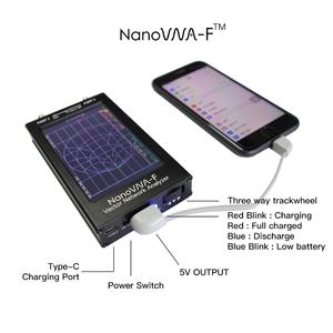 Image 3 - Nanovna F Verbeterde Versie 4.3 Inch Ips Tft Lcd Hf Vhf Uhf Uv Vector Netwerk Analyzer 50K 1Ghz 5000mA Batterij