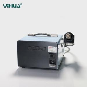 Image 5 - YIHUA 992DA + 핫 에어 건 재 작업 솔더링 스테이션 BGA 솔더링 스테이션 수리 보드 재 작업 스테이션 솔더링 110V 또는 220V