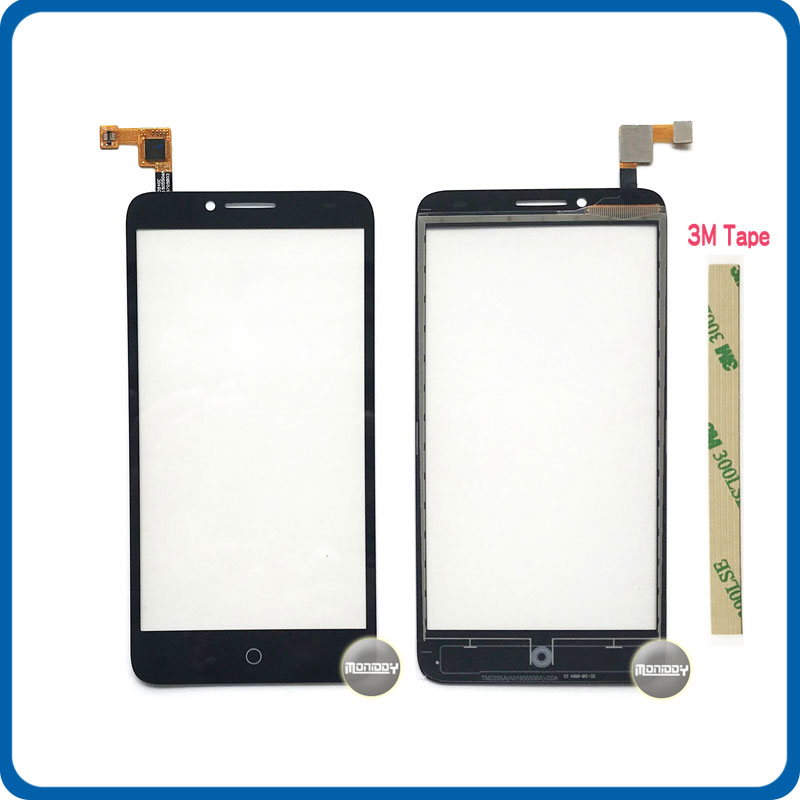 Сменный сенсорный экран 5,5 дюйма для Alcatel One Touch Fierce XL OT5054 5054 5054D, дигитайзер, сенсор, внешняя стеклянная панель объектива