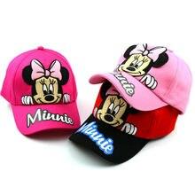 Primavera dos desenhos animados mickey minnie impressão crianças bordado algodão bonés de beisebol crianças menino menina hip hop chapéu spiderman cosplay chapéus de sol