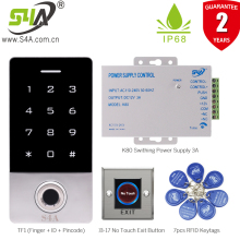 Door-Lock Access-Control Fingerprint Standalone Keypad-Finger-Waterproof Door-Entry-Tf1