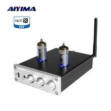 AIYIMA 6J4 튜브 앰프 TPA3116 블루투스 앰프 50Wx2 스테레오 사운드 Amplificador 스피커 홈 오디오 고음 저음 톤