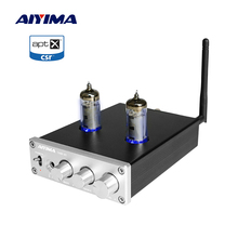 AIYIMA 6J4 Tube Amplifiers TPA3116 Bluetooth Amplifier 50Wx2 Stereo Sound Amplificador Speaker Home Audio With Treble Bass Tone