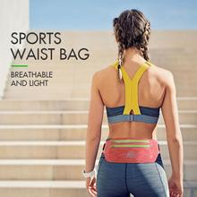 AONIJIE Outdoor Sports Bag Running Waist Men Women Ultra-light Closely Fitting for