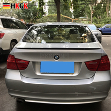 2005-2011 high quality For bmw E90 spoiler E90 M3 rear trunk spoiler 318i 320i 325i 330i E90 rear spoiler by primer paint color