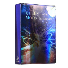 Queen of Moon Oracle Cards Tarot Cards English For Family Deck Board Games Guidance Divination Fate Playing Card