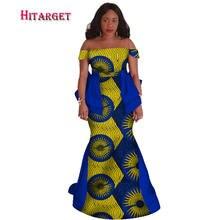 Африканские богатые платья bazin для женщин 2020 африканская