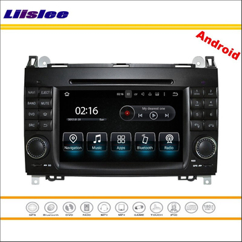 Liislee Car Android Multimedia For Mercedes Benz A Class W169 / B Class W245 2004~2012 Radio CD DVD Player GPS Navigation System image