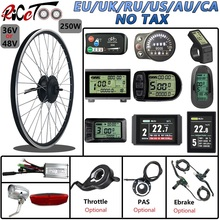 Conversion-Kit Throttle-Ebike-Kit Display Front-Motor-Wheel Electric-Bicycle 700C Optional-16-29inch