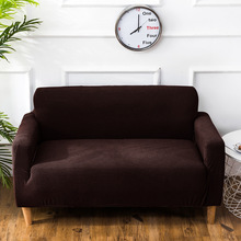 Corn Kernels Stretch Full Couch Covers Universal All-inclusive Sofa Cover Leather Protect L Shape Furniture Recliner Cover Set universal full fit sofa cover warm plush stretch elastic couch covers l shape furniture recliner covers set leather protection