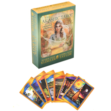 The Akashic Tarot Oracle Deck Tarot Deck Cards Game English Tarot Deck Table Card Board Games Party Playing Cards Family Games the hermetic tarot