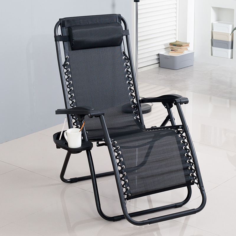 Beach Chair Lunch Chair Reclining Chair Folding Chair Office Lunch Chair Back Chair Outdoor Leisure Home Luxury