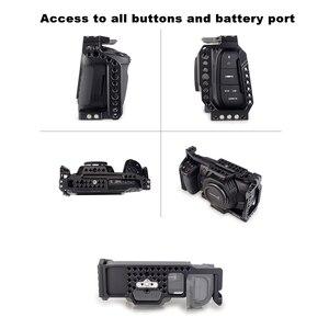 Image 2 - MAGICRIG BMPCC 4K /6K Khung Máy Ảnh với NATO Tay Cầm T5 SSD Chốt cho Blackmagic Bỏ Túi điện Ảnh Camera BMPCC 4K /BMPCC 6K