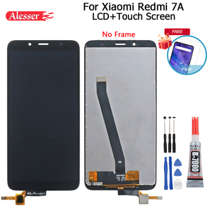 Image 1 - Alesser For Xiaomi Redmi 7A LCD Display And Touch Screen Assembly Repair Parts With Tools And Adhesive For Xiaomi Redmi 7A Phone