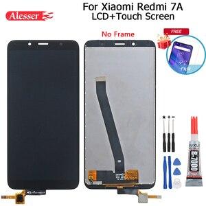 Image 1 - Alesser Per Xiaomi Redmi 7A Display LCD E di Tocco Assemblea di Schermo Parti di Riparazione Con Strumenti E Adesivo Per Xiaomi Redmi 7A Del Telefono