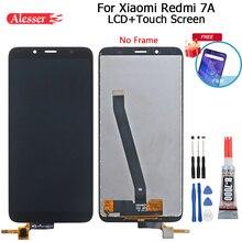 Alesser dla Xiaomi Redmi 7A wyświetlacz LCD i montaż ekranu dotykowego naprawa części z narzędziami i klejem do telefonu Xiaomi Redmi 7A
