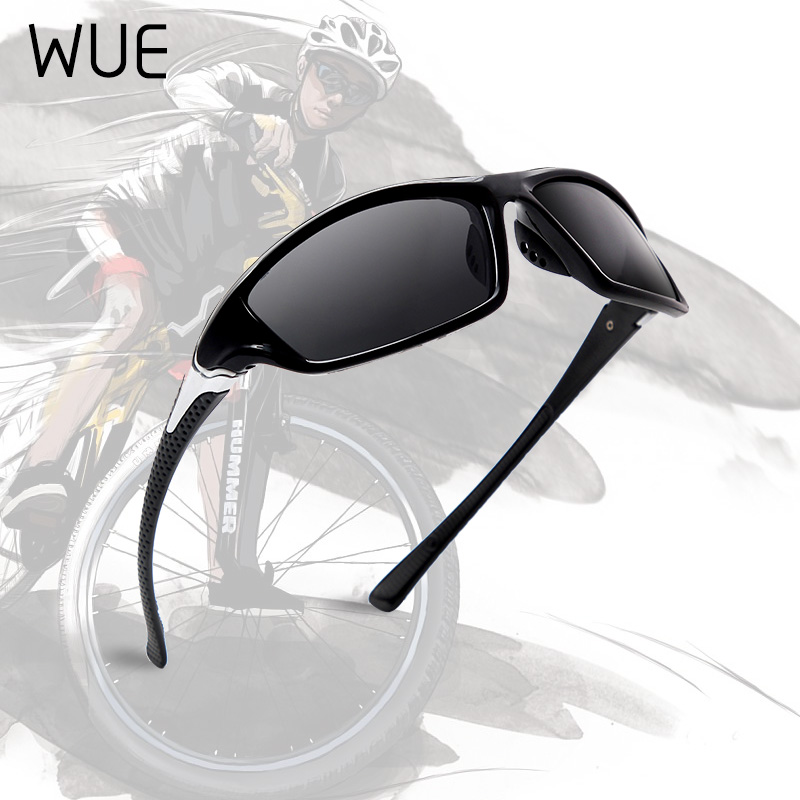 WUE 100% UV400 Polarised Driving Sun Glasses For Men Stylish Sunglasses Men's Driving Shades Male Sun Glasses  Men Goggle