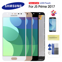 For Samsung Galaxy J5 Prime LCD G570 G570F On5 2016 J5 Prime 2017 G5700 LCD Display Touch Screen Digitizer Single/Double Hole цена 2017
