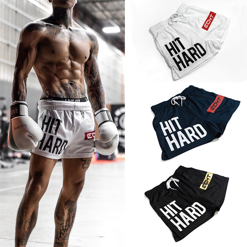 2020 New Summer Fitness Shorts Fashion Breathable Quick-drying Gyms Bodybuilding Joggers Shorts Slim Fit Shorts Sweatpants
