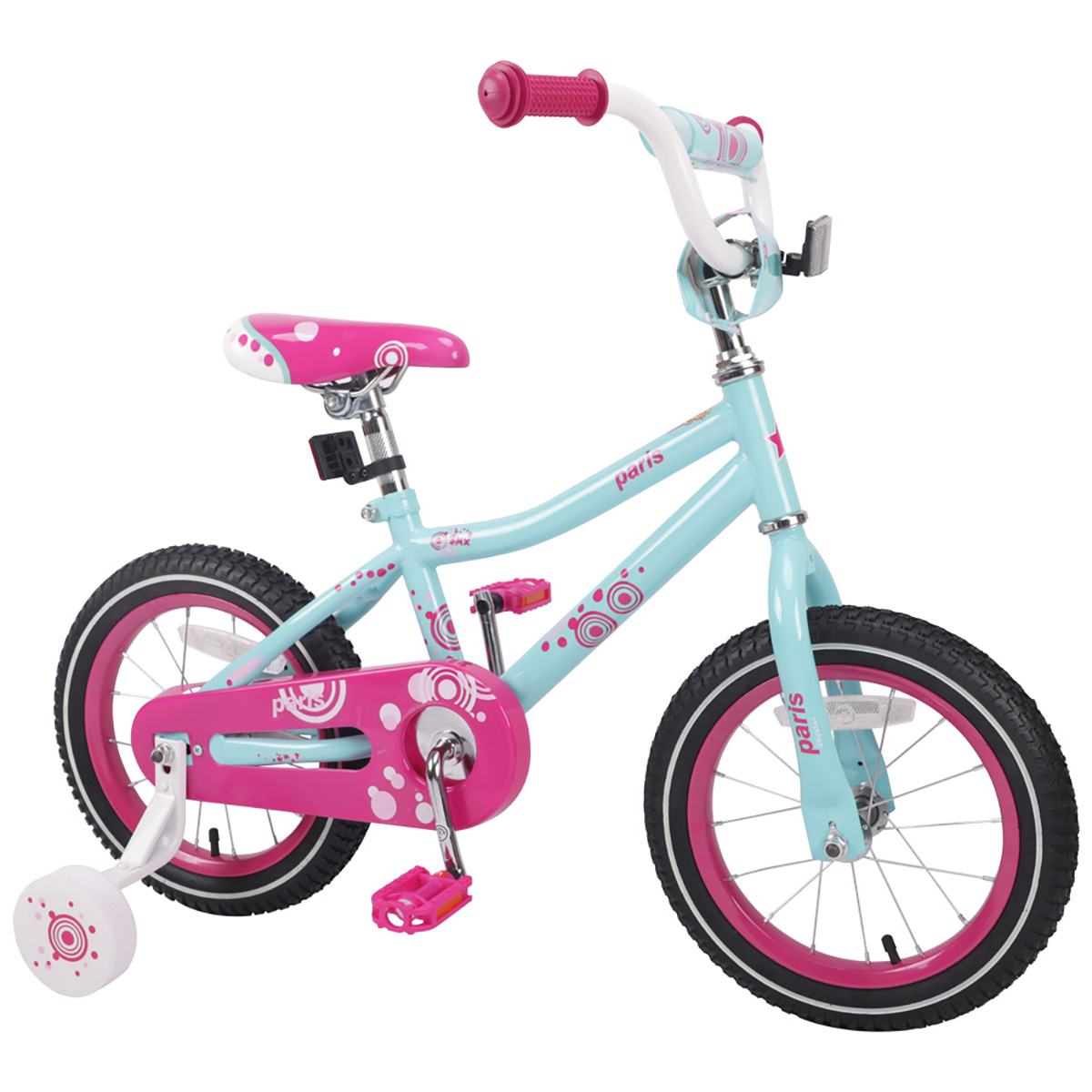 US 7 Days Arrived Free Shipping 14 inch Pink Children Bike Kids Bicycles Girls