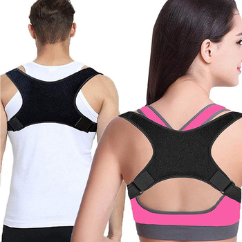 цены New Spine Posture Corrector for Men Women Back Straightener Posture Corrector Brace Support Belt Upper Back Brace Pain Relief