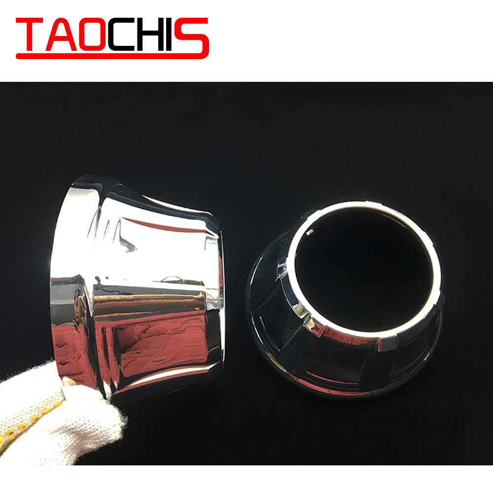 TAOCHIS ReStyling Automobiles Shroud Mask for 3.0 inch HELLA 3R G5 3/5 Koito Q5 Bi Xenon Projector Lens A type