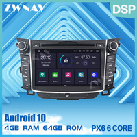 PX6 2 din Android 10.0 Car Multimedia Player For Hyundai I30 Elantra GT 2012 2016 GPS Radio Audio stereo DVD Player BT head unit