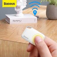Baseus-rastreador inteligente inalámbrico para niños, localizador de llaves con alarma antipérdida, localizador de billetera, aplicación de registro GPS, etiqueta de alarma de Antipérdida