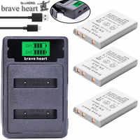 Batería bateria EN-EL5 ENEL5 En El5 + cargador dual para cámara Nikon Coolpix P80 P90 P500 P510 P520 accesorios de la cámara