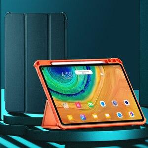 XUNDD антиударный смарт-Спящий Флип кожаный чехол для Huawei MatePad Pro 10,8 чехол для планшета с держателем карандаша из ТПУ чехол
