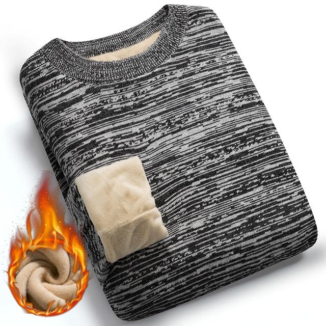 Мужской свитер с флисовой подкладкой 2