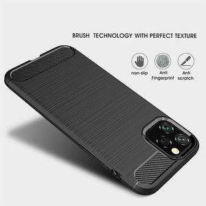 Image 2 - Funda de silicona suave para iPhone, carcasa de fibra de carbono para iPhone X XR XS 11 Pro max 6 6s 7 8 plus