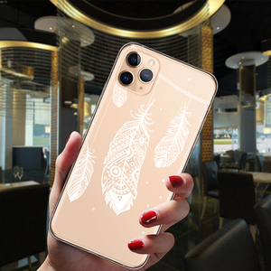 Сексуальный цветочный чехол для телефона iPhone 12 Mini 11 Pro XS Max 6S 8 7 Plus X XR SE 2 Мандала кружевной Цветочный Чехол Мягкий силиконовый чехол