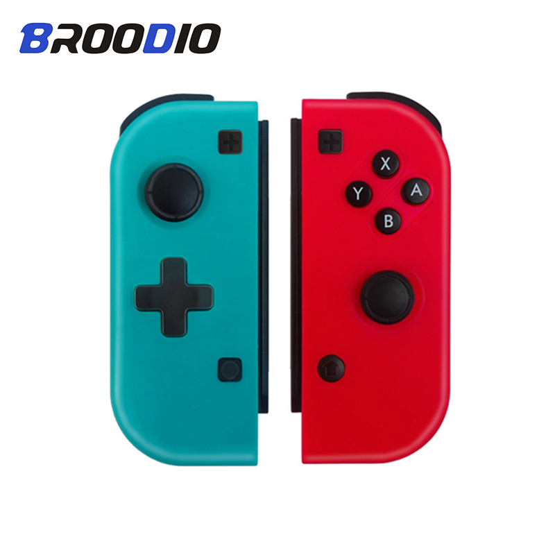 Gamepad Joystick Switch Game-Controller Nintendo Bluetooth Joy-Con Wireless Left Right