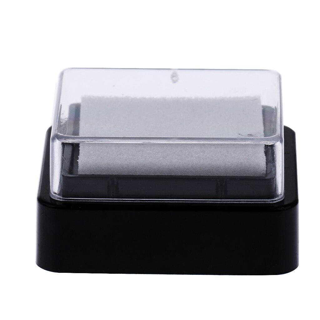 20 штук импорт DIY пустая без чернил прокладка для печати Inkpad для украшения фотоальбома Скрапбукинг Канцелярские Принадлежности