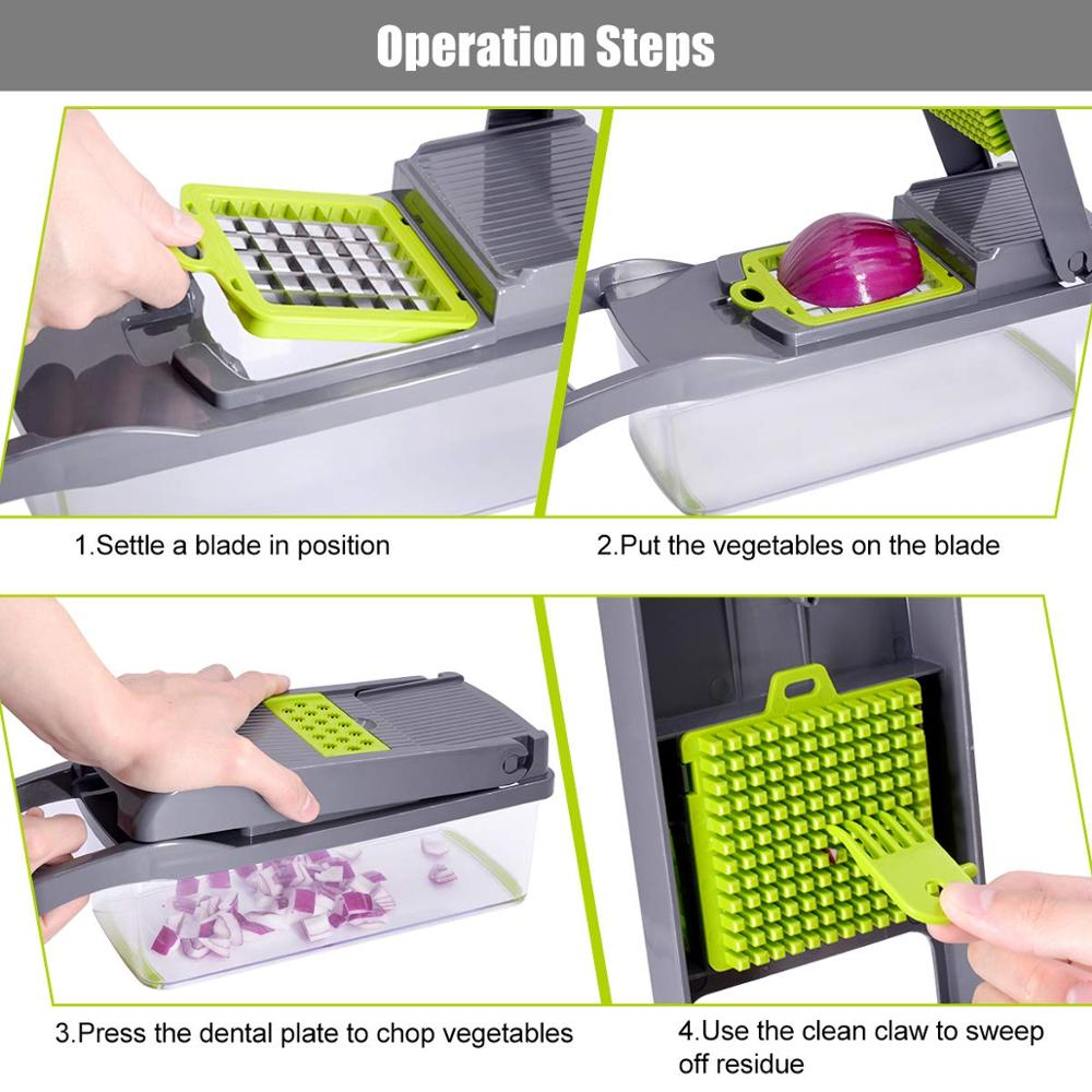 9-in-1 Multi-function Vegetable Cutter 5