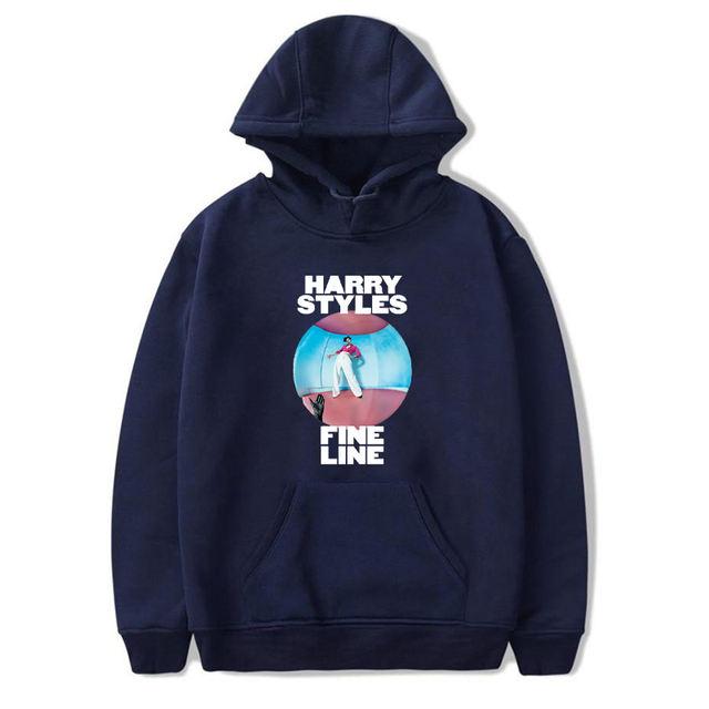 HARRY STYLES FINE LINE THEMED HOODIE (6 VARIAN)