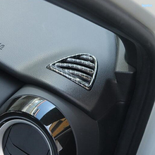 Lapetus Side Air Conditioning AC Outlet Vent Decoration Frame Cover Trim 2 Piece Fit For Nissan Kicks 2016 2017 2018 2019 2020