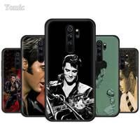 Yomic Elvis Presley Fall für Xiaomi Redmi Hinweis 9S 8T 8 7 8A 7A 9 K30 Pro 6 6A Schwarz Silikon Telefon Abdeckung Weiche TPU Funda Capa