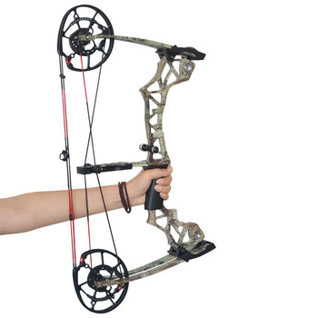 KAIMEI 270 Archery 40-60lbs Compound Bow 310FPS Arrow Steel Ball Dual Purpose Bow 80% Labor Saving Ratio For Hunting Shooting 6