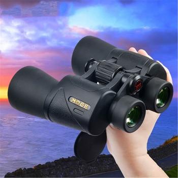 MOGE 10X50 Low Light Level Night Vision Outdoor Travel Concert Big Eyepiece Binoculars High Power HD Telescope