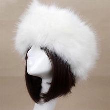 Зимняя пушистая Толстая шапка из искусственного меха для взрослых, унисекс, Теплые Зимние Лыжные шапки для ушей, модная мягкая защитная шапка-бомбер с козырьком