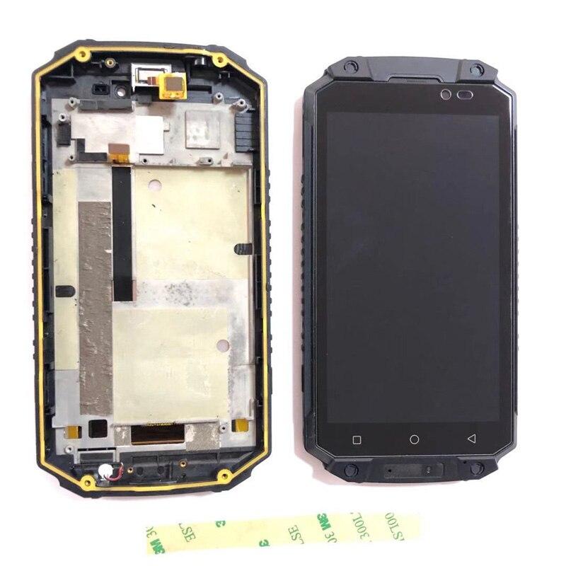 Для Oukitel K10000 MAX ЖК-дисплей Экран Дисплей с кодирующий преобразователь сенсорного экрана в сборе Экран, дигитайзер, для сборки, с корпусом, зап...