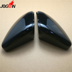 Image 2 - 2PC For VW GOLF 7 MK7 MK7.5 GTI R GTE GTD 2013   2019 Touran 2016 2017 ABS Side Rear view Mirror Cover Replacement Caps Shell