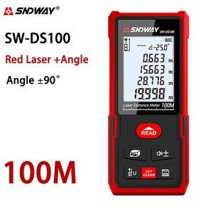 Image 5 - Sndway electronic roulette laser rangefinder 40m 50m 70m 100m 120m laser distance meter digital trena lazer measure range finder
